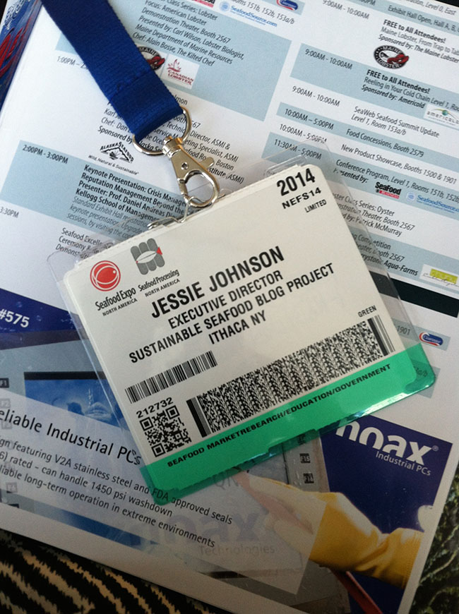 Name Badge + Official Program = Ready to go!